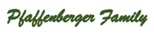 Pfaffenberger Family logo